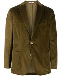 Boglioli Long-sleeved Button Up Jacket - Green