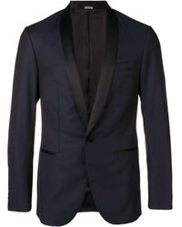 Lanvin ディナースーツ ジャケット - ブルー