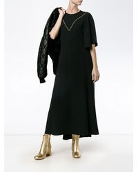 Ellery コントラストステッチ ドレス - ブラック