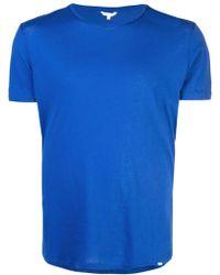 Orlebar Brown ラウンドネック Tシャツ - ブルー