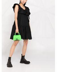 3.1 Phillip Lim ティアード シフトドレス - ブラック