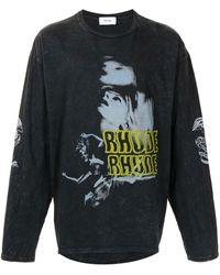 Rhude Blue Woman ロングtシャツ - グレー