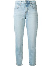 Nobody Denim - Mid-rise Slim Cropped Jeans - Lyst