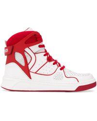Balmain Keith High-top Sneakers - Wit