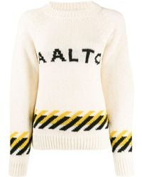 AALTO - ロゴ セーター - Lyst