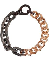 A_COLD_WALL* Chain-link Necklace - Multicolour