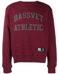 Rassvet (PACCBET) プリント スウェットシャツ - レッド