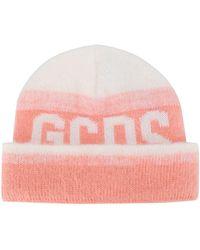 Gcds Beanie mit Logo - Pink