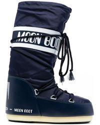 Moon Boot Classic Icon スノーブーツ - ブルー