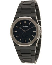 D1 Milano Polycarbon Space Gray 40.5mm Watch - Black