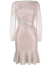 Talbot Runhof - メタリック ドレス - Lyst