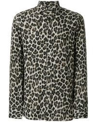 Tom Ford - Leopard Print Shirt - Lyst