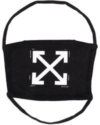 Off-White c/o Virgil Abloh Arrows Face Mask - Black