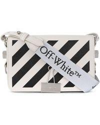Off-White c/o Virgil Abloh Mini Diag flap bag - Bianco