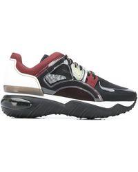 Fendi Doorschijnende Sneakers - Zwart