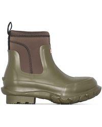 Stella McCartney Резиновые Ботинки Из Коллаборации С Hunter - Зеленый