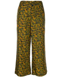 Christian Wijnants | Parish Cyrus Cropped Trousers | Lyst