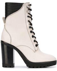 MICHAEL Michael Kors Lace-up High Heel Boots - Multicolor