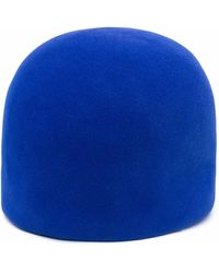 Nina Ricci Gorra afelpado - Azul