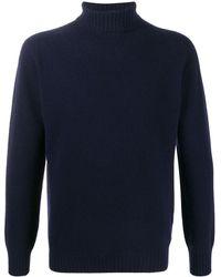 Altea タートルネック セーター - ブルー