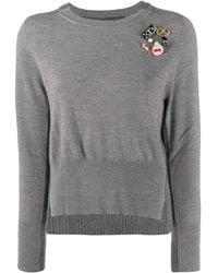 Marc Jacobs デコラティブ セーター - グレー