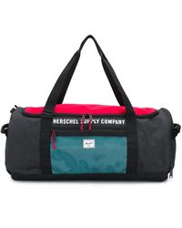 Herschel Supply Co. Logo Print Holldall - Black