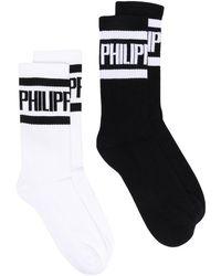 Philipp Plein Носки С Логотипом - Белый