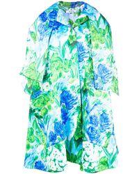 Richard Quinn - Floral Print Oversized Coat - Lyst