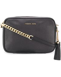 MICHAEL Michael Kors Ginny Cross-body Bag - Black
