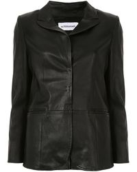 Sylvie Schimmel シングルジャケット - ブラック
