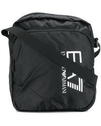EA7 - Logo Print Shoulder Bag - Lyst