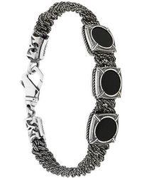 Emanuele Bicocchi - Round Stone Embellished Bracelet - Lyst