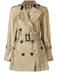 Burberry - Ombersley Shell Trench Coat - Lyst