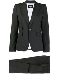 DSquared² Tailored Suit Jacket - Gray