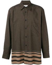 92e980bdd Lemaire Pink Straight Collar Shirt for Men - Lyst
