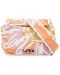 Jacquemus Knotted Crossbody Bag - Orange