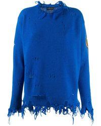 Etro Felpa con effetto vissuto - Blu