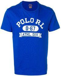 Polo Ralph Lauren ロゴ Tシャツ - ブルー