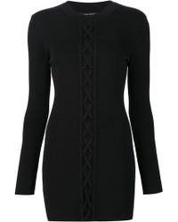 Neil Barrett - Cable Knitted Dress - Lyst