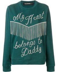 Filles A Papa Gemstones Sweatshirt - Green