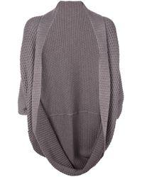 Natori Knitted Cardigan - Gray