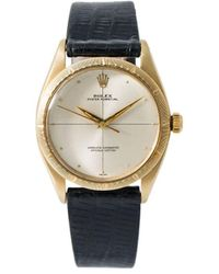 Rolex Orologio Oyster Perpetual 34mm Pre-owned 1952 - Metallizzato