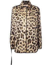 N°21 Leopard Print Jacket - Brown