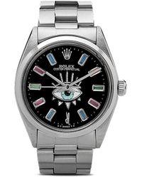 Jacquie Aiche リモデル Rolex Oyster Perpetual Eye 腕時計 - マルチカラー