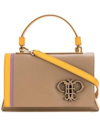 Emilio Pucci - Embossed Logo Shoulder Bag - Lyst