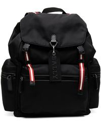 Bally - Crewt Striped-embellished Backpack - Lyst