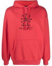 Rassvet (PACCBET) ロゴ パーカー - レッド
