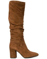 COACH - Graham Slouchy Boots - Lyst