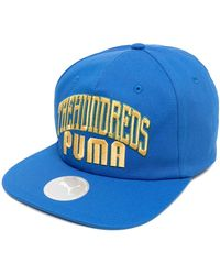 PUMA スナップバック キャップ - ブルー