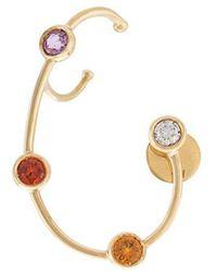 Ana Khouri - Jewelled Wire Earring - Lyst